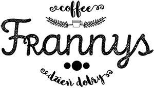 frannys, sklep, logo, kawa
