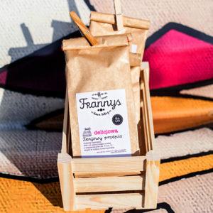 Frannys, sklep z kawą, kawa smakowa, latte