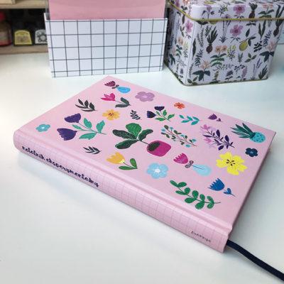 notatnik, notes do bullet journal