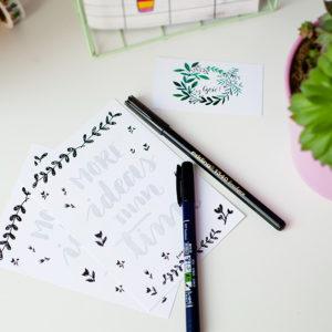 zestaw do kaligrafii
