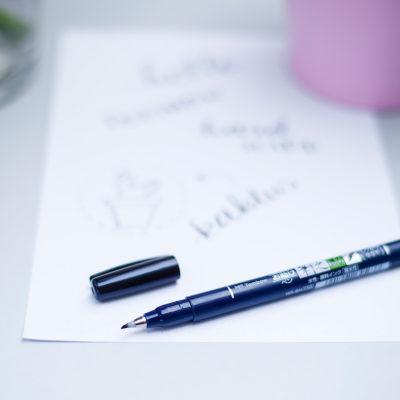 Tombow Fudenosuke brush pen sklep frannys