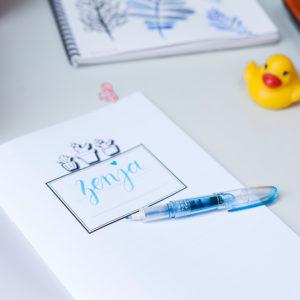 brush pen Pilot Petit