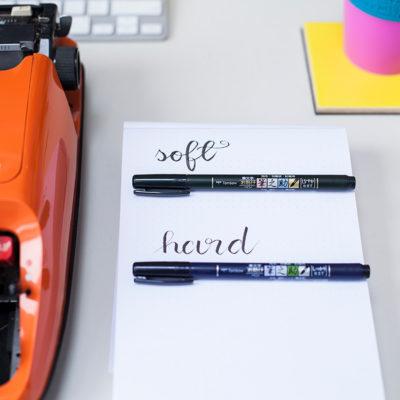 brush pen Tombow Fudenosuke sklep frannys