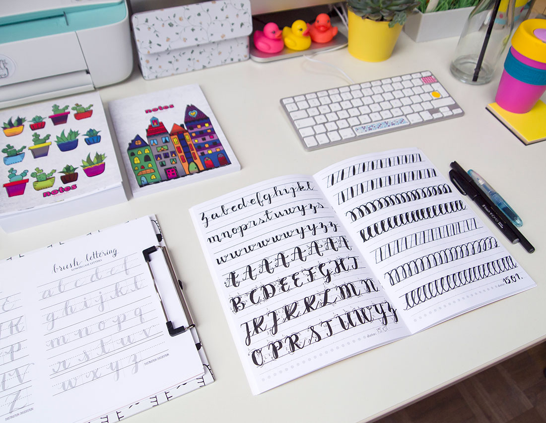 brush peny sklep, alfabety do druku, kaligrafia, frannys