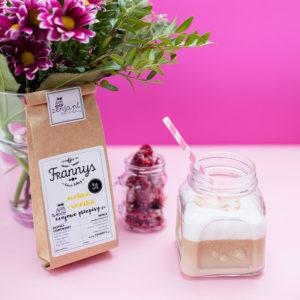 kawa malina z wanilia frannys