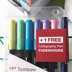 brush pen tombow dual