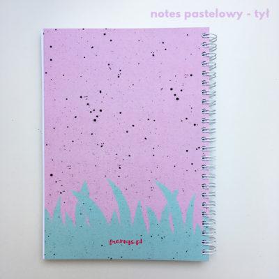 notes w kropki na spirali bullet journal