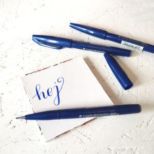 Pentel brush pen sklep frannys