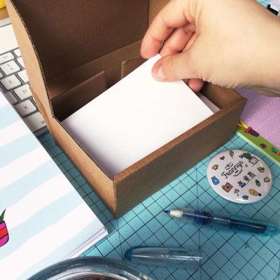 kartoniki gruby papier frannys
