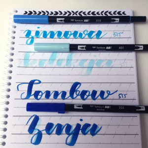 Tombow Dual Abt brush peny