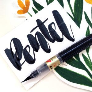 brush pen kaligrafia hand lettering sklep